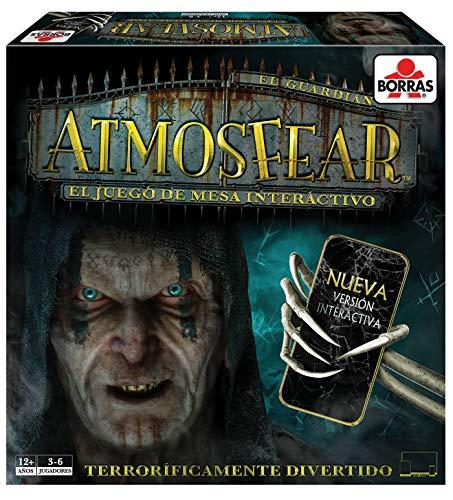 Borras- Atmosfear Juego de mesa familiar de habilidad, estrategia y suspense, versión...