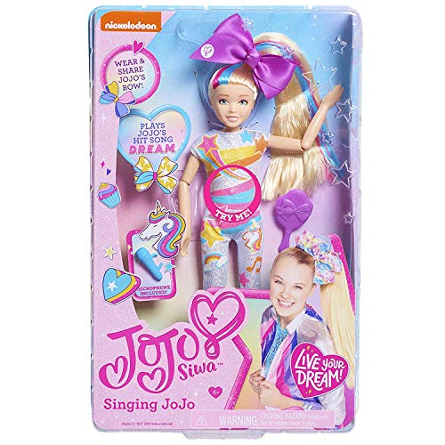 JoJo Siwa Singing Doll (Dream), Multi-Color, 10 inches