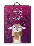 SIX Schmuck-Adventskalender für Frauen Be Merry and Bright