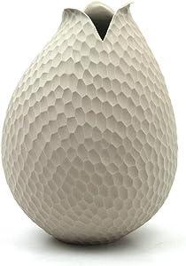ASA 1362011 Vase, Céramique, Blanc, 22x15x22 cm