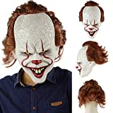 SUNFFFW Nouveau Stephen King's It Pennywise Masque Latex Halloween Effrayant Masque...