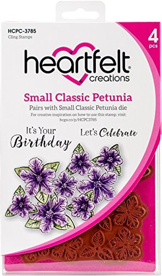 Heartfelt Creations Small Classic Petunia .25