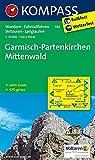 Garmisch-Partenkirchen - Mittenwald: Wanderkarte mit Aktiv Guide, Radrouten, Skitouren und Loipen. GPS-genau. 1:35000 (KOMPASS-Wanderkarten)