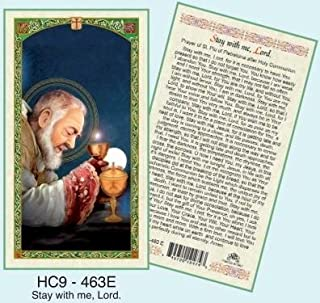 padre pio stay with me