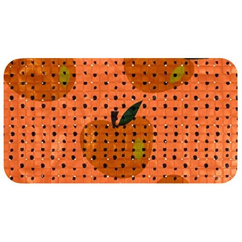nakw88 Apples and Bots Tapis pour baignoires et douches 67 x 37 cm PVC respectueux de l'environnement pour sols lisses uniquement