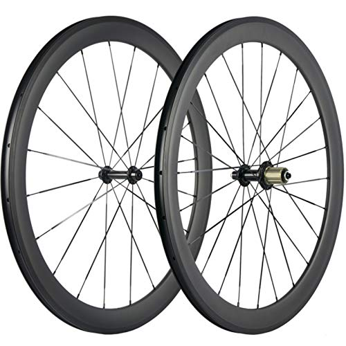 Superteam 38/50/60/88mm Carbon Wheelset 700c Clincher 23mm Wheel UD Matte Finish (50mm/23mm)