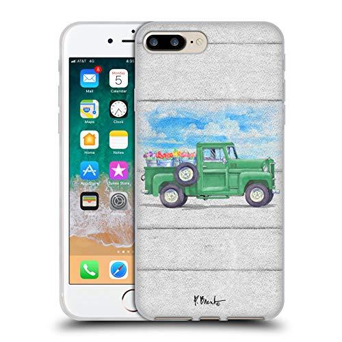 Head Case Designs Ufficiale Paul Brent Tulipani Camion di Fiori Cover in Morbido Gel Compatibile con Apple iPhone 7 Plus/iPhone 8 Plus