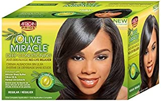 African Pride Hair Conditioner and Relaxer Kit, Regular, 1 Ounce