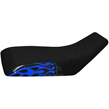 VPS Seat Cover Compatible With Yamaha Raptor 660 Blue Logo Seat Cover # New 2020