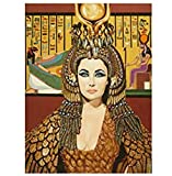 ZYHSB Elizabeth Taylor - Cleopatra Wandkunst Poster Malen