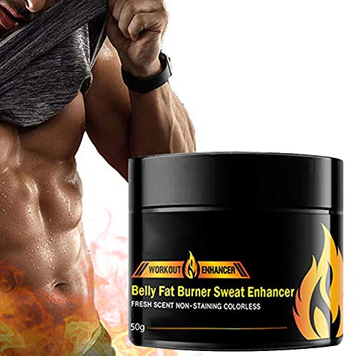 50ml Cellulite Removal Body Fat Burning Cream Slimming Lose Weight Anti-Cellulite, Fat Burning Cream for Belly, Hot Cream, Natural Sweat Workout Enhancer Gel, Slim Shaping Cream, for Men or Women