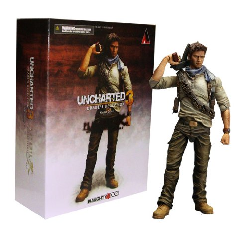 Action Figur Uncharted 3 Nathan Drake 22cm Play Arts Kai