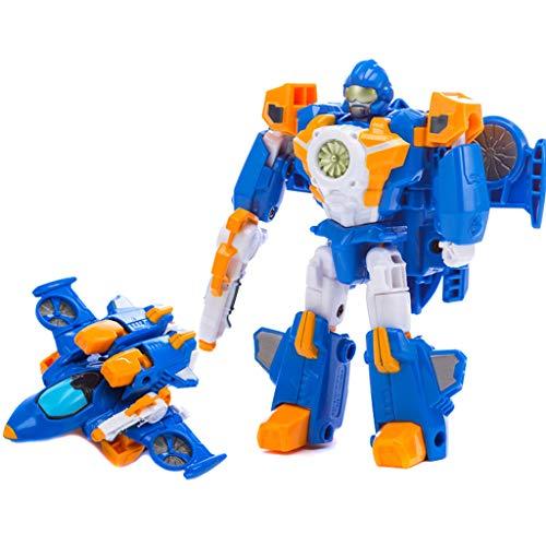 Siyushop Transformer Robot Voiture, Jouets for Enfants Deformation, Robots Deformation, Garçon Et Une Fille De Voiture Jouets, 2-8 Ans Enfants ( Color : 4 )