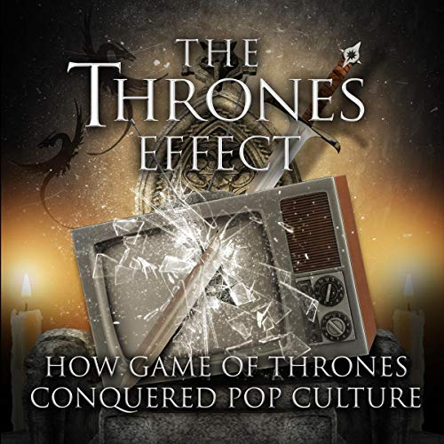 The Thrones Effect     How HBO's Game of Thrones Conquered Pop Culture              Autor:                                                                                                                                 Gil Kidron,                                                                                        Theo Gangi,                                                                                        Valentina Carias,                   und andere                          Sprecher:                                                                                                                                 Abishai Aziz Al-Doory and Ashaya Valentina Carias Chris Christian Noga Ariel Galor Theo Gangi Quinn Howard MJ Johnson Gil Kidron Anthony Peter Medina Gemma Smith                      Spieldauer: 3 Std. und 4 Min.     1 Bewertung     Gesamt 5,0