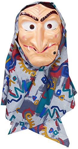 M 81970020 Maske Hexe mit Kopftuch f ür Erwachsene