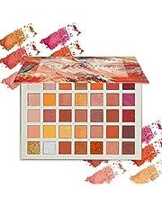 ONLYOILY Paleta 35 kolorów cieni do powiek, matowe, błyszczące, wysoko pigmentowane cienie do powiek, kosmetyki