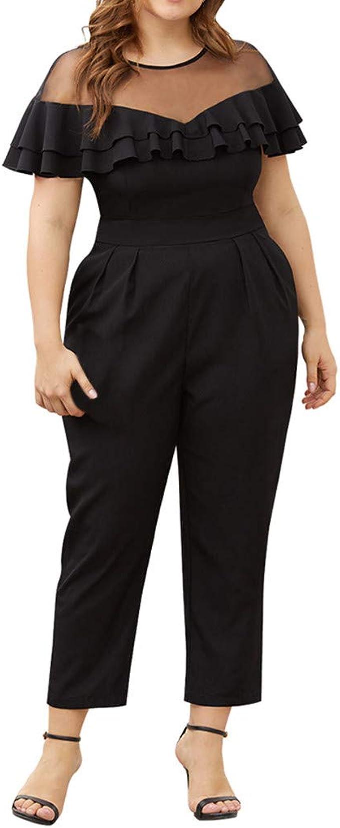 Für mollige hosenanzug Outfits für