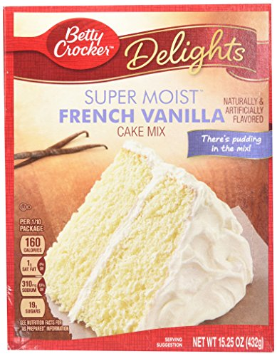 Betty Crocker Super Moist French Vanilla Cake Mix (432g)