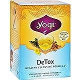 Yogi Tea Detox - Caffeine Free - 16 Tea Bags - 70%+ Organic -