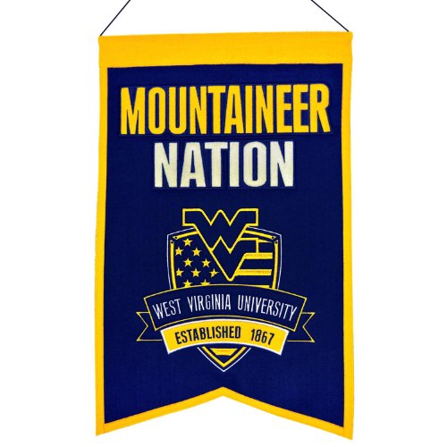 NCAA West Virginia Mountaineers Man Cave Banner