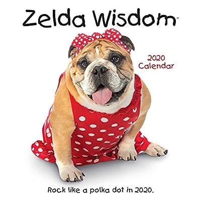 ZELDA WISDOM 2020 WALL CAL