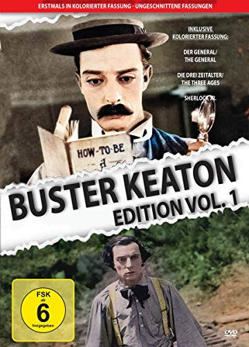 Buster Keaton - Edition Vol. 1 (in Farbe) (3 DVDs)