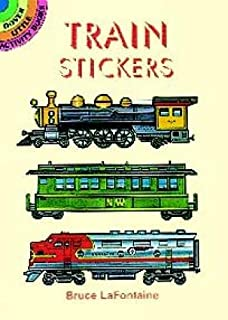 Train Stickers (Dover Little Activity Books Stickers)