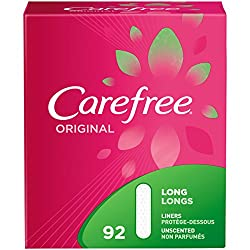 top rated Real carefree thin panty liner, comfortable women's protection for daily care, 92 long 2021