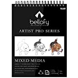 Bellofy 100-Sheet Sketchpad Artist Pro Watercolor Pad