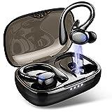Auriculares Inalambricos Deportivos, Auriculares Bluetooth 5.1 Sport IP7 Impermeable Cascos Inalambricoscon con Microfono, Control Táctil In-Ear Auriculares Running, Hi-Fi Estéreo, Reproducci 30 Horas