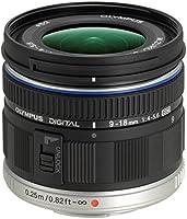 Olympus M.Zuiko Digital ED Obiettivo 9-18mm 1:4.0-5.6, Micro Quattro Terzi, per Fotocamere OM-D e PEN, Nero