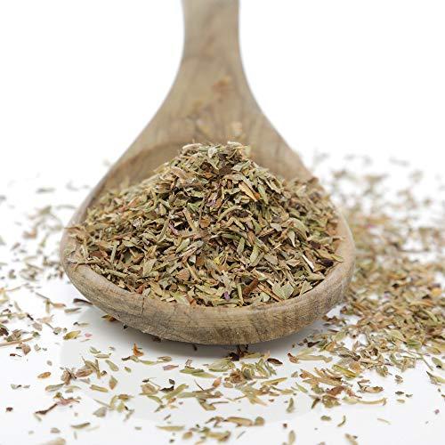Herbis Natutra Premium Thymian gerebelt, aus biologischem Anbau, Thymus vulgaris (250 Gramm)