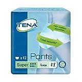 Tena Pants Super große (L) Schutzhosen für starke Blasenschwäche / Inkontinenz - atmungsaktiv,...