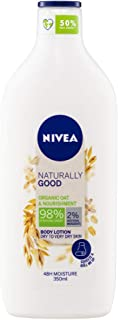 NIVEA NIVEA BODY Naturally Good Organic Oat Body Lotion & Nourishing Moisturiser for Dry to Very Dry Skin, Formulated with...