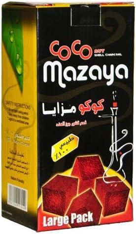 Daily bargain sale Authentic Coco Nara Mazaya 96 Coconut Hookah Coals Max 54% OFF