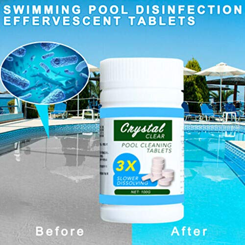 Best Buy! Aliturtle Super Powerful Pool & Spa Cleaning Maintenance Tablets, Disinfection Effervescen...
