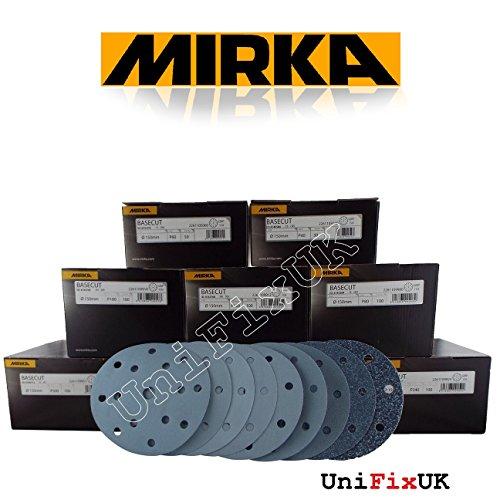 Mirka 2261109951 Basecut Grip 15L P500, 150 mm, 100 Pro Pack