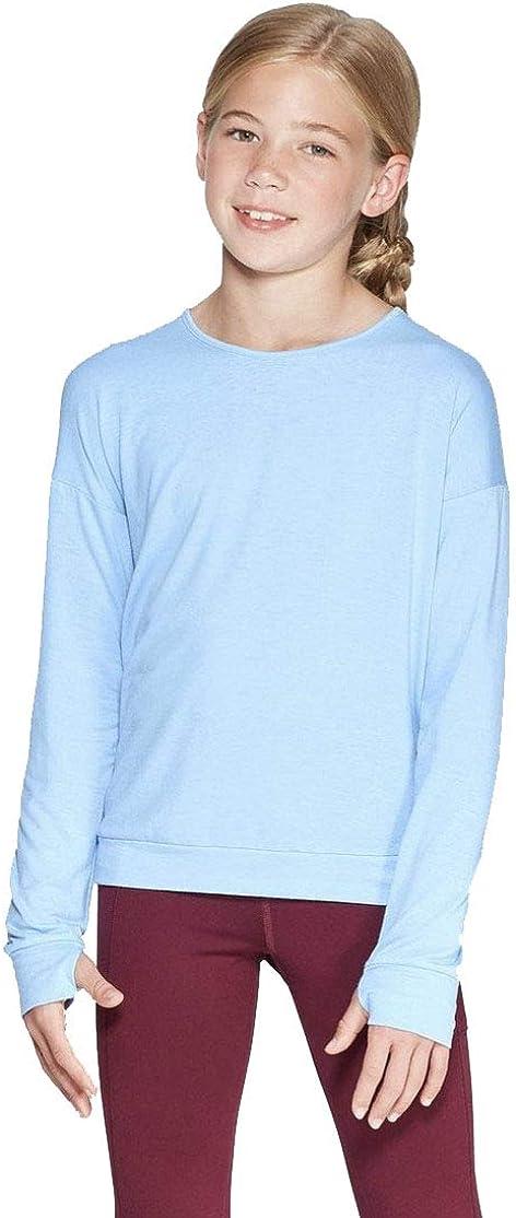Champion C9 Girls' Keyhole Back Long Sleeve T-Shirt -