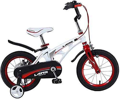 Bicicleta para niños 12/14/16 pulgadas Niños al aire libre Jugar Ciclismo 2-8 años Niños Bicicleta Ejercicio con ruedas de entrenamiento Aleación de magnesio Marco Disco Brake-A_16