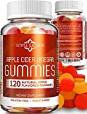 Apple Cider Vinegar Gummies (120 ct) - Gummy Alternative to ACV Pills, Capsules & Tablets - Organic, Raw, Unfiltered with Mother Supplement for Detox & Immune Support - Non GMO - Made in USA