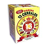Harina 13 cereales 5 PACK El Atol 100% Natural, Made with the best cereals from Guatemala, Excellent SUPPLEMENT for nursing mothers and a great family food