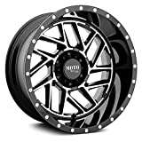 MOTO METAL MO985 BREAKOUT Gloss Black Machined Wheel Chromium (hexavalent compounds) (16 x 8. inches /6 x 66 mm, -6 mm Offset)