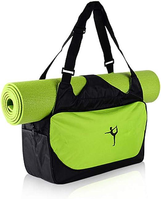 Peut contenir Un Tapis de Yoga Grande capacit/é de Rangement de v/êtements Sac /à Dos /étanche Sac /à bandouli/ère Sac de Sport Techwills Sac de Sport pour Salle de Sport