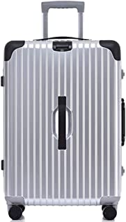 Student Trolley,Holiday Suitcase,Hard Shell Luggage,Lightweight ABS 4 Wheels Spinner Business Trip Trolley Case Cabin Carry-On Hand Luggage Suitcase,B,20inch
