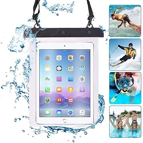 Negro Tableta Impermeable Pantalla Táctil Bolsa Seca Funda Compatible con Samsung Galaxy Tab A 10.1 (2016) with S Pen