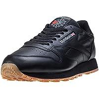 Reebok Schuhe Classic Leather Black-Gum (49800) 40 Schwarz
