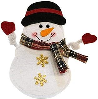 Swiftgood キッチンクリスマスカトラリーデコレーションナイフフォーク食器バッグ