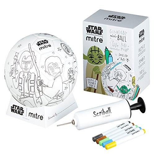 MITRE Kinder 'Star Wars Yoda scriball, weiß, mini