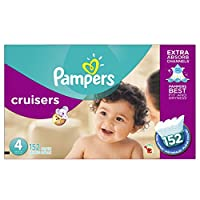 Pampers Cruisers Diapers Size 4 Econo