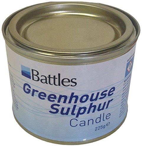 Sulphur Schwefel-Kerzen, Unisex, weiß, Nicht zutreffend
